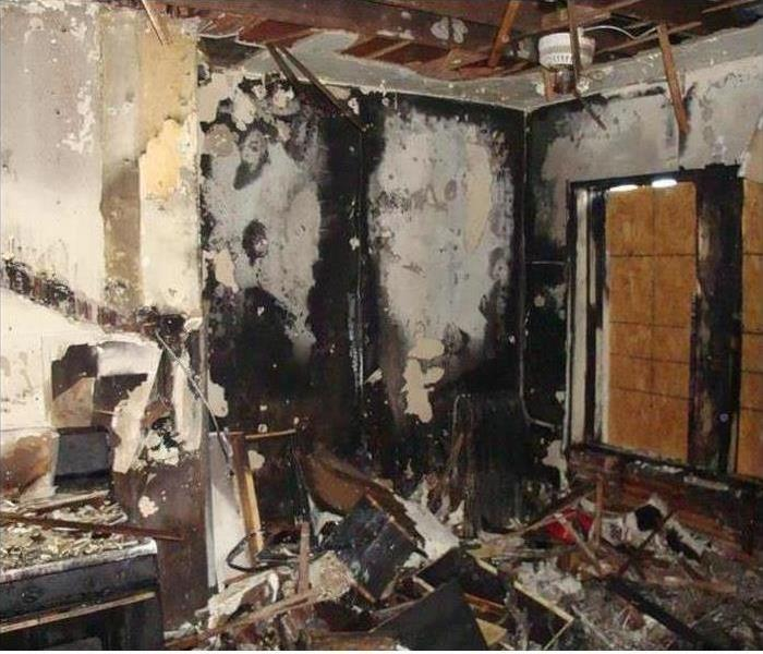 Fire Damage – Crossville Home